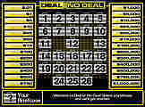 Deal or no Deal Screenshot vom 2007-12-21