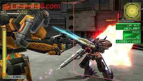 Armored Core 3 Portable Screenshot vom 2009-10-26