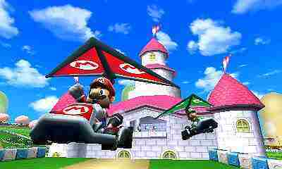 Mario Kart 7 Screenshot vom 2011-04-20