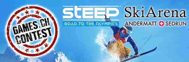 Gewinnspiel: Steep - Road to the Olympics