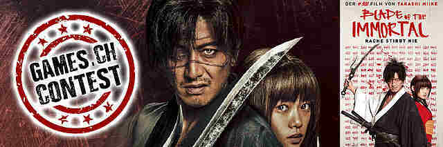 Gewinnspiel: Blade of the Immortal