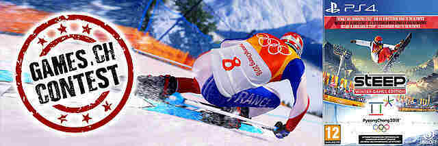 Gewinnspiel: Steep - Winter Games Edition