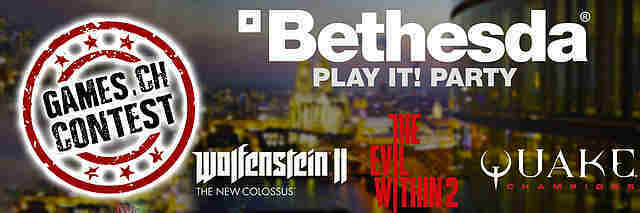 Gewinnspiel: Play it!-Party (Bethesda)