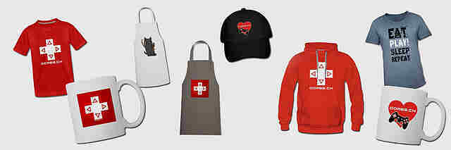 Der GAMES.CH - Fan-Shop
