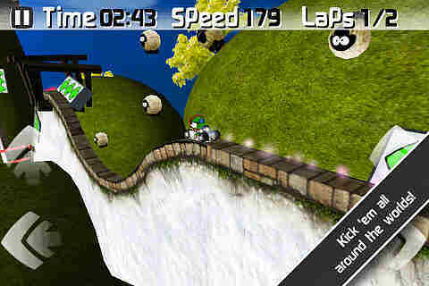 jAggy Race Screenshot vom 2011-10-26