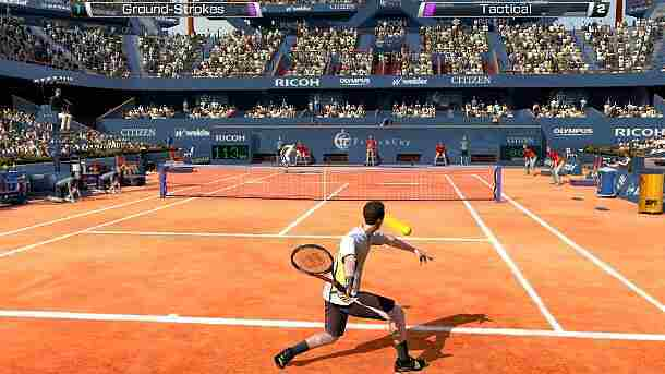 Virtua Tennis 4: World Tour Edition Screenshot vom 2011-12-12