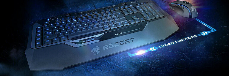 Keyboard ISKU Illuminated -CH Layout- (Roccat)
