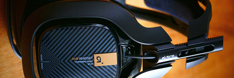 Headset A40 TR (Astro) - Test