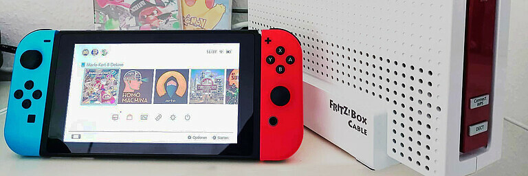 Mit FRITZ!Box & Nintendo Switch Online - Tipps & Tricks