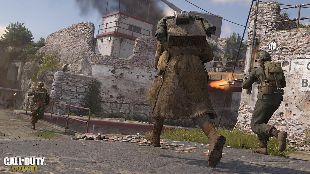 Hotfix für Call of Duty: WWII verfügbar - Waffen- & Map-Anpungen on