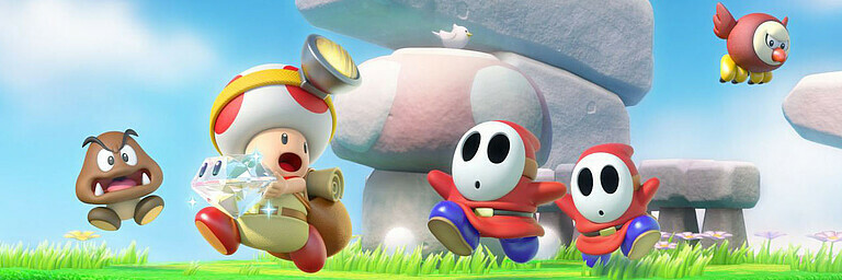 Captain Toad: Treasure Tracker (Switch) - Test