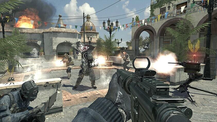 Call Of Duty Modern Warfare 3 Test Call Of Duty Modern Warfare