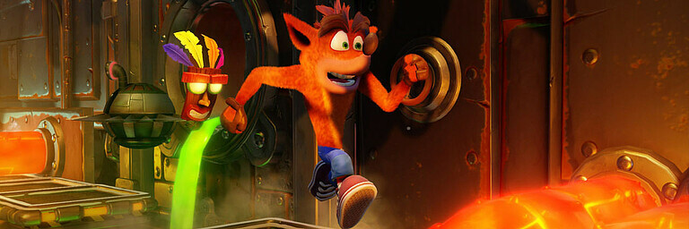 Crash Bandicoot: N-Sane Trilogy (PS4) - Test