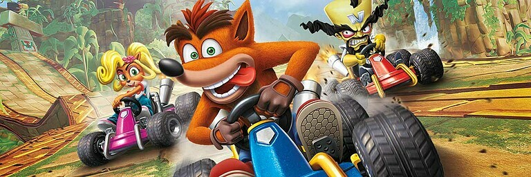 Crash Team Racing Nitro-Fueled - Test / Review