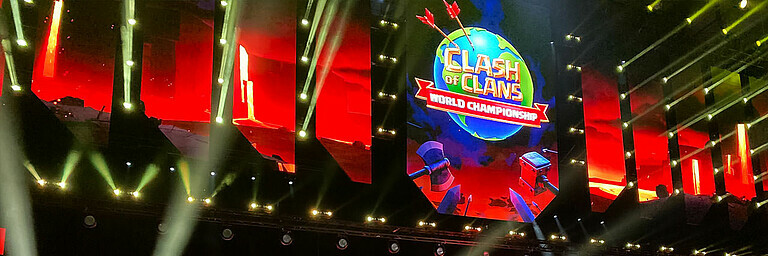 Clash of Clans entert die ESL One - Special