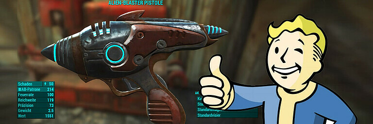 Feature: Top Ten der interessantesten Waffen in Fallout 4