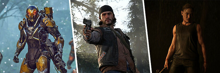 """Most Wanted"" PlayStation-4-Spiele (2019) - Feature"