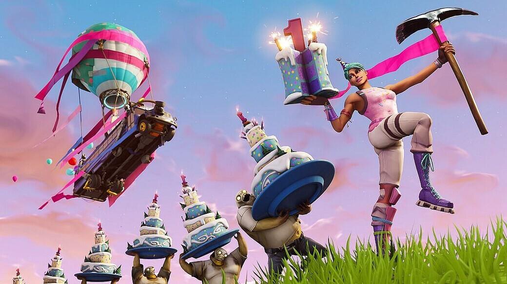 Fortnite Feiert Ersten Geburtstag Epic Games Kundigt Ingame Event An