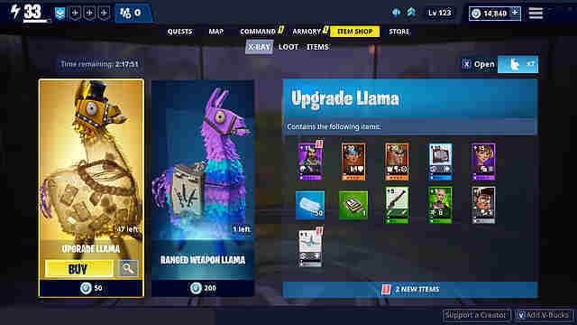 epic games hat bestatigt dass mit dem update 7 30 fur fortnite rette die welt jedes lama lootbox welches mit v bucks erworben werden kann - fortnite rette die welt code
