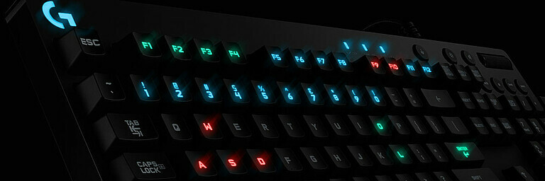 Logitech G213 Prodigy Keyboard - Test