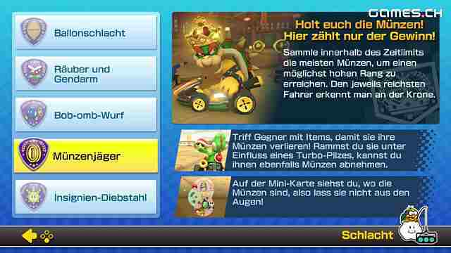 Mario Kart 8 Deluxe Schlachtenübersicht Diese Schlacht Modi Sind