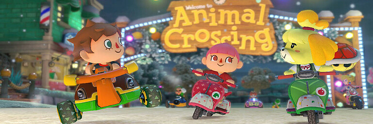 Mario Kart 8 - Animal Crossing DLC - Test