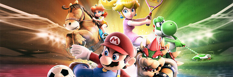 Mario Sports Superstars - Test