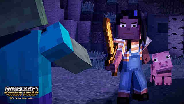 Игры / Minecraft: Story Mode / PlayGround.ru