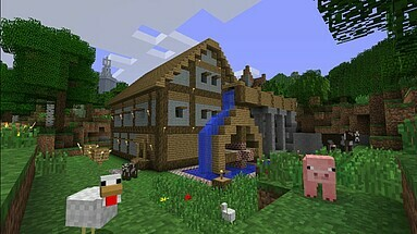 Über Eine Million MinecraftSpieler Gleichzeitig Online Hälfte - Minecraft spieler online