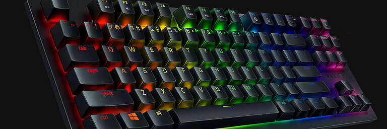 Razer Huntsman TE - Hardware-Test