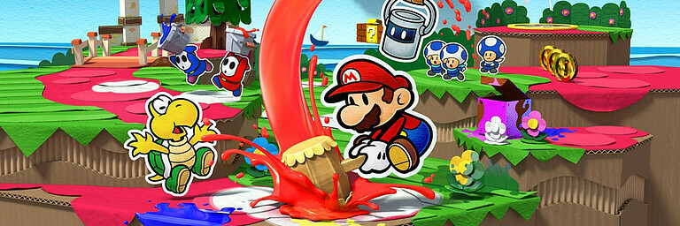 Paper Mario: Color Splash - Test