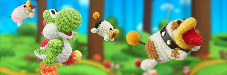 Poochy & Yoshi's Woolly World (3DS) - Test