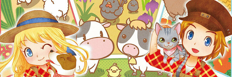 Story of Seasons: Trio of Town - Test