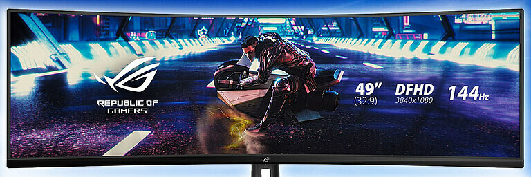 Gaming-Monitor ASUS ROG Strix XG49VQ - Hardware
