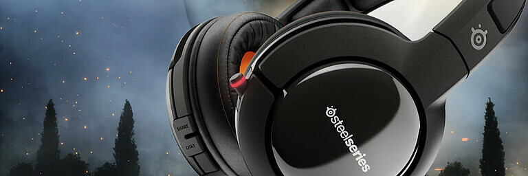 SteelSeries Siberia 800 Headset - Hardware