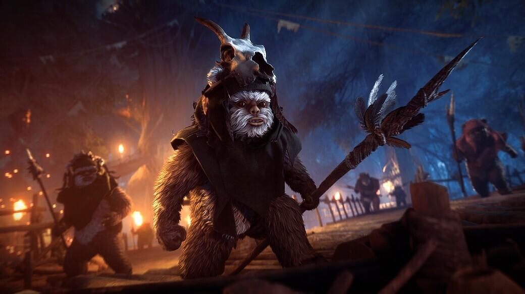 Nacht Auf Endor Update Für Star Wars Battlefront 2 Enthüllt Neuer