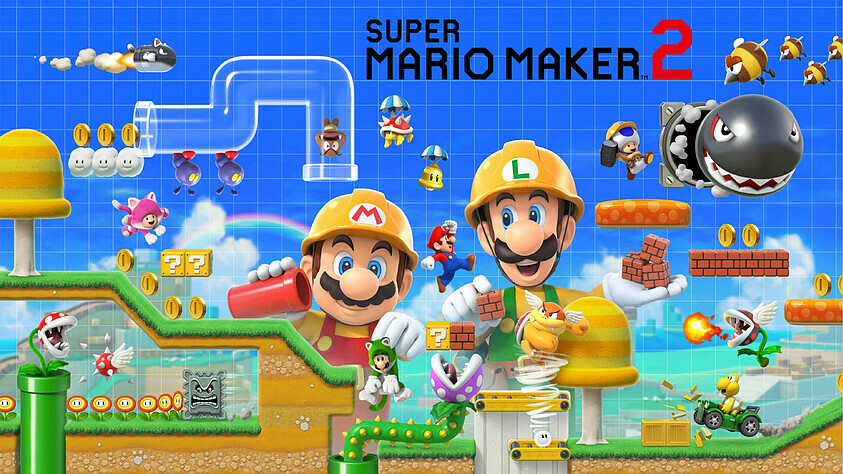 Increased the number of downloadable levels in Super Mario Maker 2