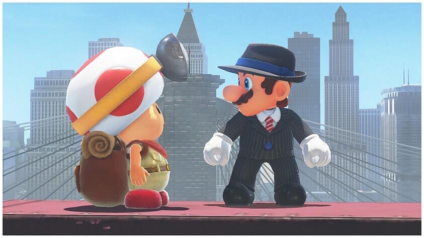 Super Mario Odyssey Test Ein Spiel Für Die Ewigkeit