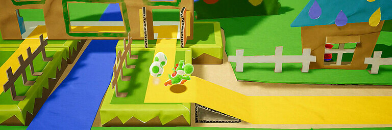Yoshi's Crafted World - Vorschau / Preview