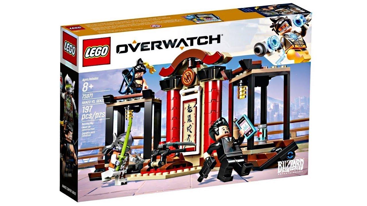 lego sets zu overwatch enth llt release im januar 2019. Black Bedroom Furniture Sets. Home Design Ideas