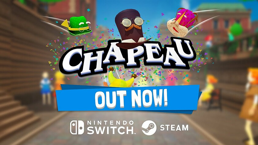 Chapeau available today – launch trailer for the party game